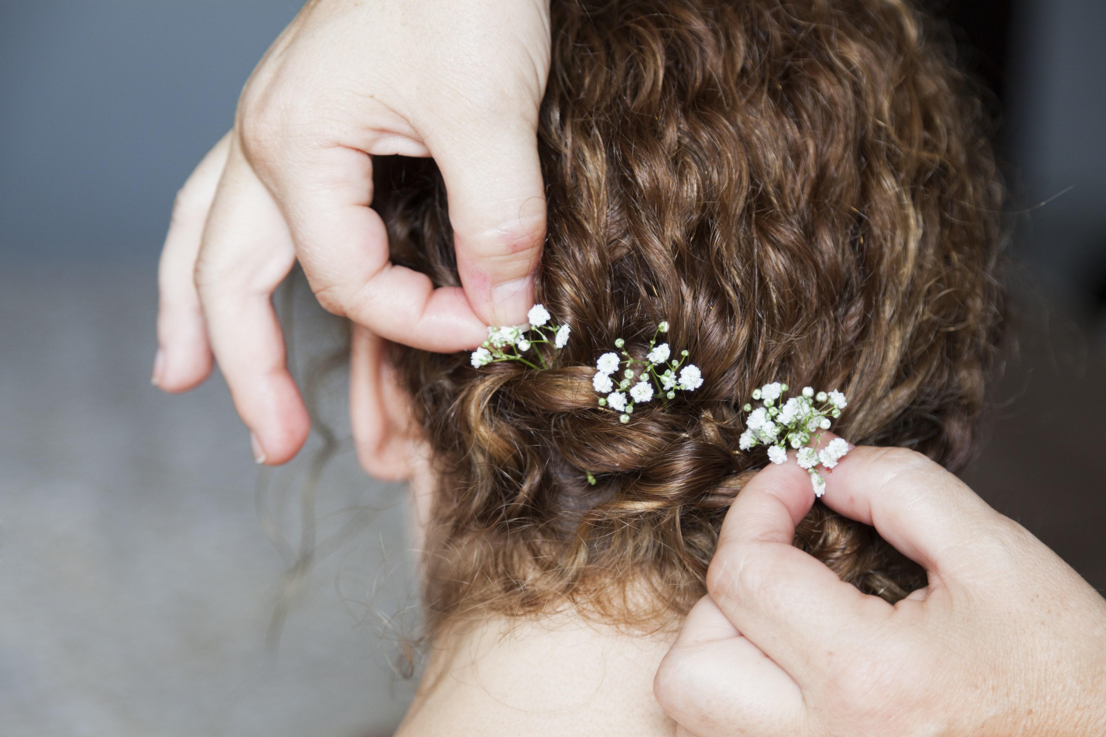 acessorios no cabelo