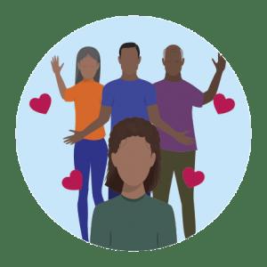 Transição capilar: apoio da família