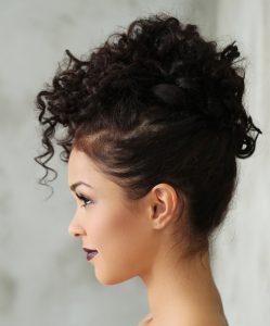 penteado cabelo cacheado