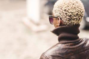 matizador cabelo loiro curto